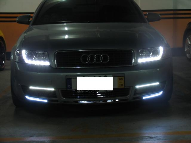 New Audi Led Drls Hidplanet The Official Automotive